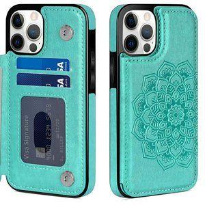 iPhone 12 Pro Max Flip Folio Wallet Phone Case